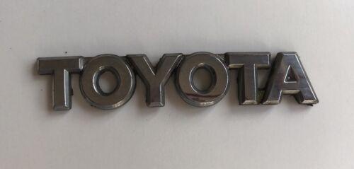 YARIS MK1 Toyota Arrière Lettre badge logo emblème 9.50 CM long fit D60
