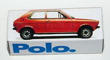 Reprobox Schuco 1:43 VW Polo - Werbebox für VW
