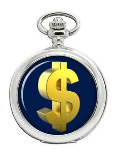 Gold-Dollar-Taschenuhr