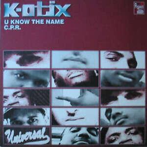 K-Otix-U-Know-The-Name-12-034-Vinyl-Schallplatte-146808