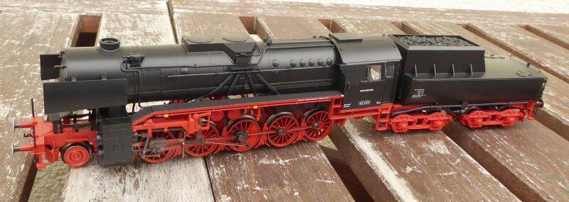 Trix 22226 H0 Treno merci a vapore BR 42 con Borsano Extender DR ep. 3