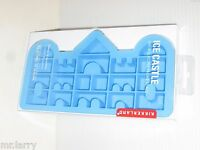 Kikkerland Silicone Ice Castle Ice Cube Jello Jiggler Soap Mold Princess Party