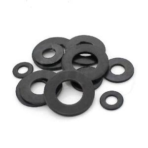 30pcs-Carbon-Steel-Black-8-8-Class-Flat-Washer-for-Screw-M3-M4-M5-M6-M8-M10-M12