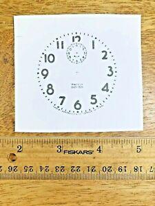 Baby Ben Alarm Clock Paper Dial    (Lot 206)