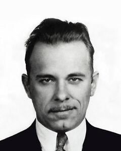 MELVIN PURVIS caught Bank Robber John Dillinger Glossy 8x10 Photo Print Poster