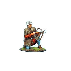First Legion Cru061 - Arbalétiste croisé à genoux chargeant du métal peint