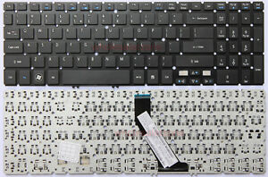Keyboards4Laptops UK Layout Backlit Black Windows 8 Laptop Keyboard Compatible with Acer Aspire Timeline Ultra M5-581T-6490 Acer NSK-R3KBW