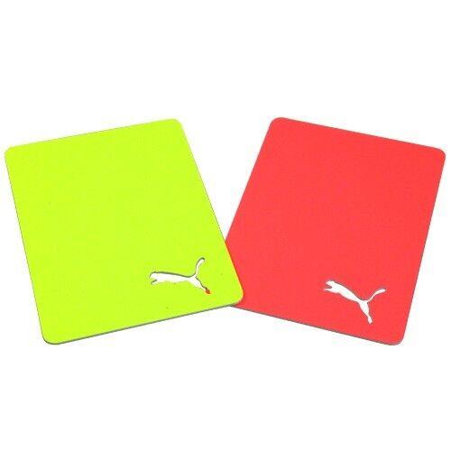 PUMA JAPAN Football Referee Cards Yellow Red Judge Card 053027