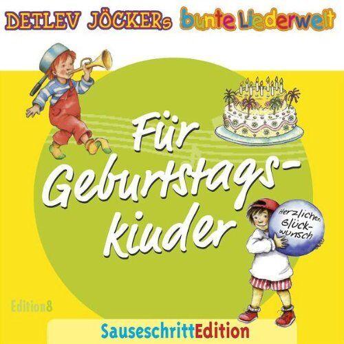 Detlev Jöcker - Sauseschritt Edition für Geburtstagskinder