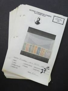 EDW1949SELL-ECUADOR-Mint-amp-Used-collection-on-display-pages-Scott-Catalog-317