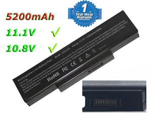 5.2Ah Batterie pour ASUS A32-K72 A32-N71 A72D K72J A73S K73S N71J N73S X72J X73S