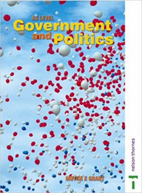 AS Government and Politics, New, Moyra Grant Book