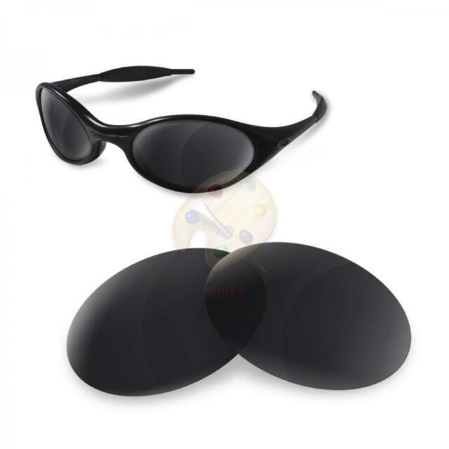 dd24147170 Fit See Polarized Replacement Lenses for Oakley Eye Jacket 1.0 Black Iridium