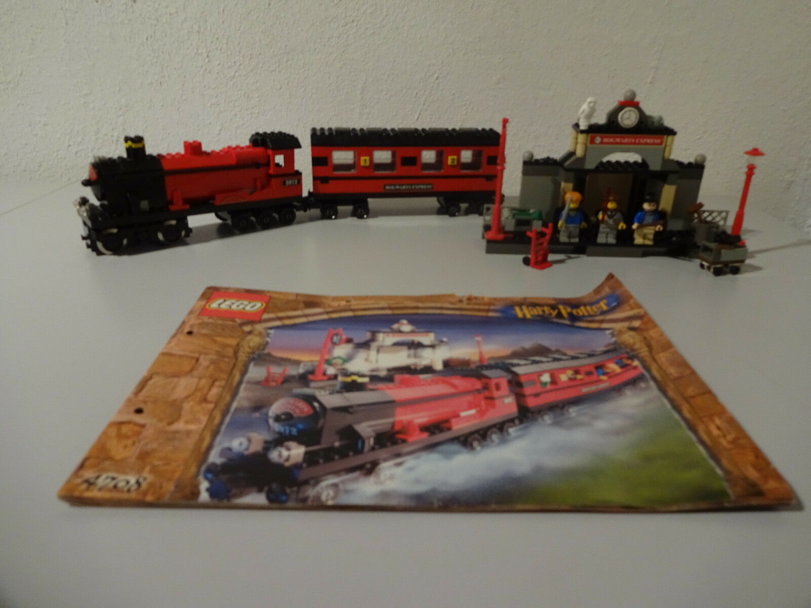 (Tb) Lego 4708 Harry Potter Hogwarts Express with Ba 100% complete 9VOLT Motor