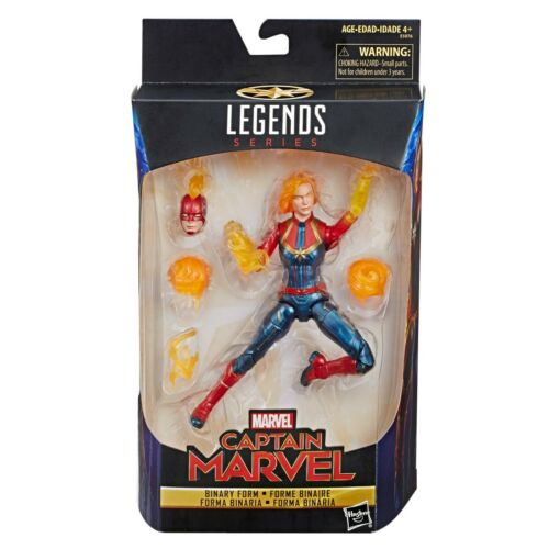 """Marvel Legends Capitaine Marvel forme binaire Exclusive 6/"""" Figure New in Box"""