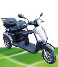 1000W Elektromobil ZWEISITZER ElektroScooter SeniorenMobil bis 25kmh AlarmAnlage