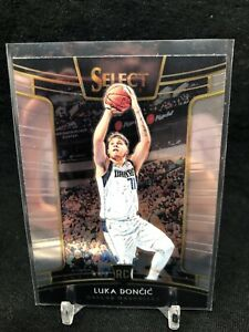 2018-19-Panini-Select-Luka-Doncic-RC-25-Concourse-NBA-Mavericks-Rookie-Card-D52