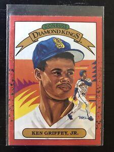 1990 Donruss Diamond Kings Ken Griffey Jr. Seattle Mariners #4