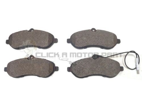 Fiat Scudo 1.6 2.0 Multi-jet 2007-2016 front brake pad set of 4 with Capteur New