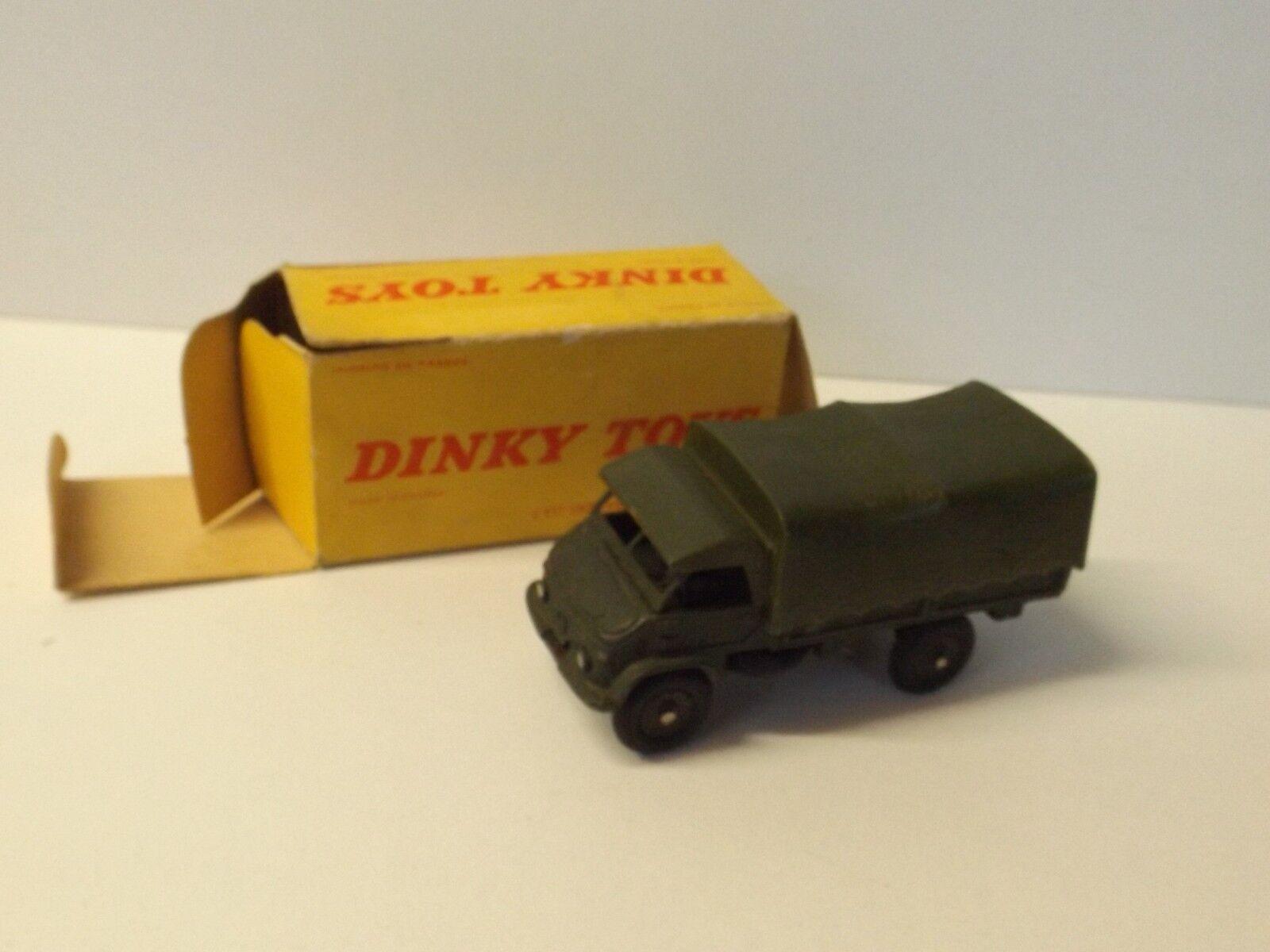Dinky Toys Camionnette Unimog Mercedes militaire + boite réf 821 neuf L@@K