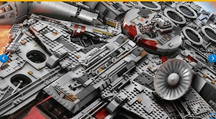 LEGO Star Wars Millennium Falcon (75192) BRAND NEW NEW NEW IN SEALED BOX NEVER OPENED  e9ffbc