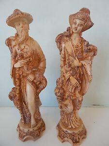 Vintage Japanese Heavy Carvings Figurines
