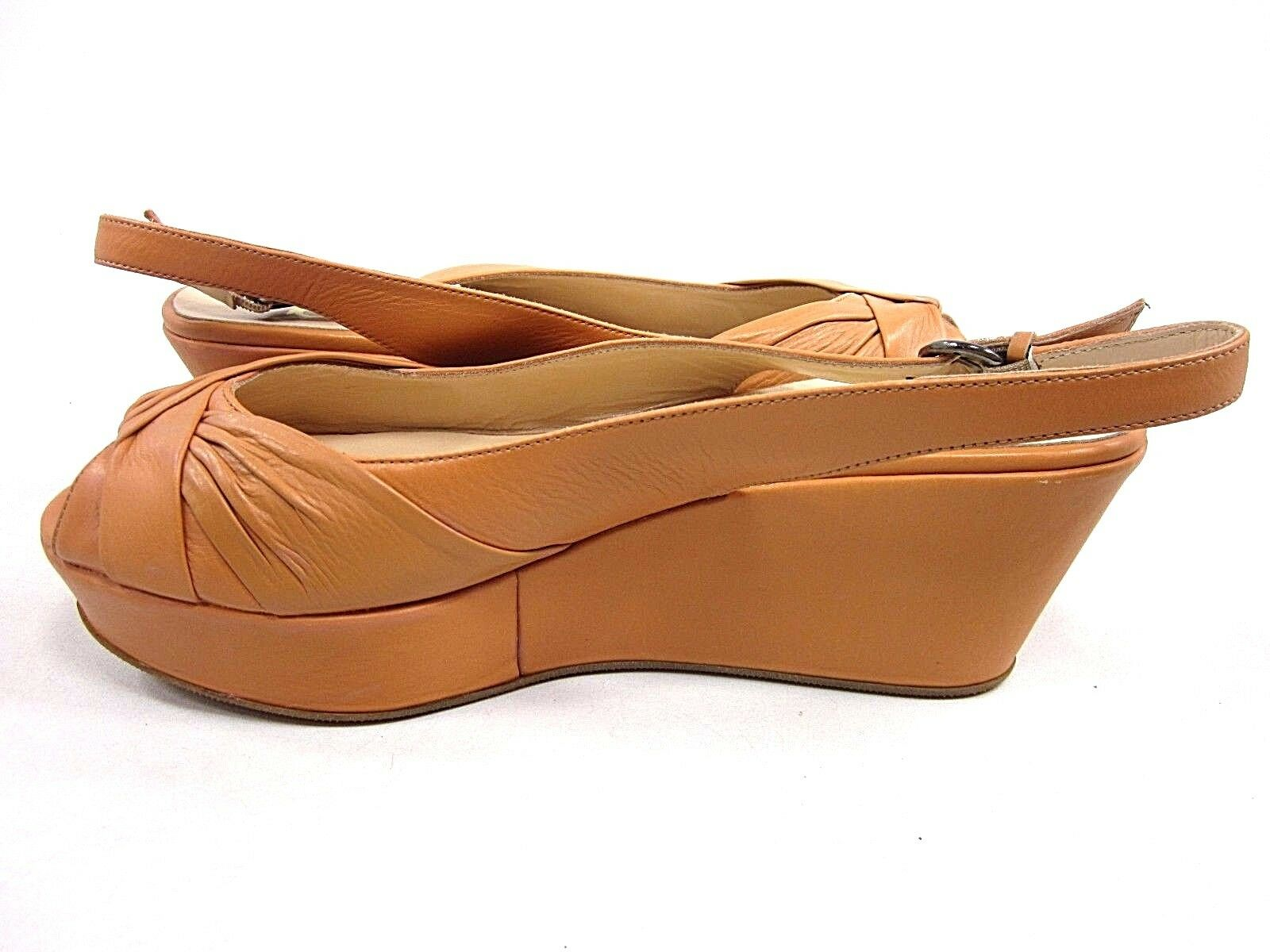 BUTTER, BUTTER, BUTTER, SOUP PLATFORM SANDAL, donna, NATURAL, US Dimensione 10 M, NEW WITH BOX 37b8f1