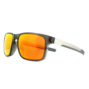 47842fa855 Image is loading Oakley-Sunglasses-Holbrook-Mix-OO9384-07-Grey-Smoke-
