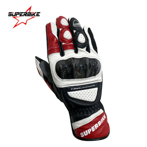 SUPERBIKE® Motorcycle Gloves Leather GP PRO Motocross Gloves Protective Racing