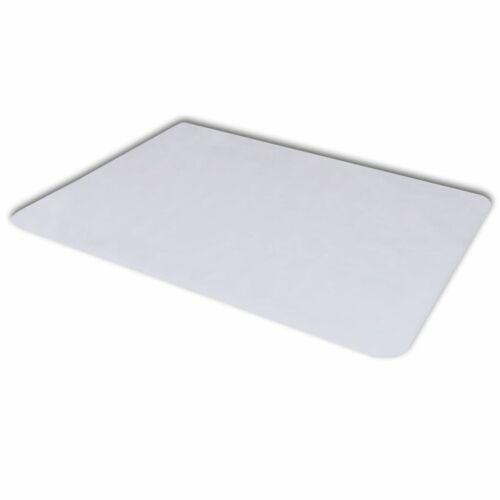 vidaXL Bodenschutzmatte Bodenmatte Matte Stuhlunterlage Laminatboden 90 x 120cm