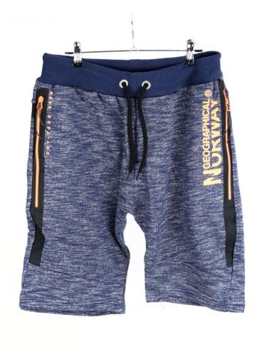 Geographical Norway Herren Shorts Sweatshorts Grau Schwarz Blau  M L XL XXL XXXL