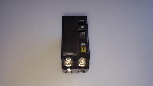 SQUARE D QO235 2 POLE 35 AMP 120//240V  YELLOW FACE Circuit Breaker