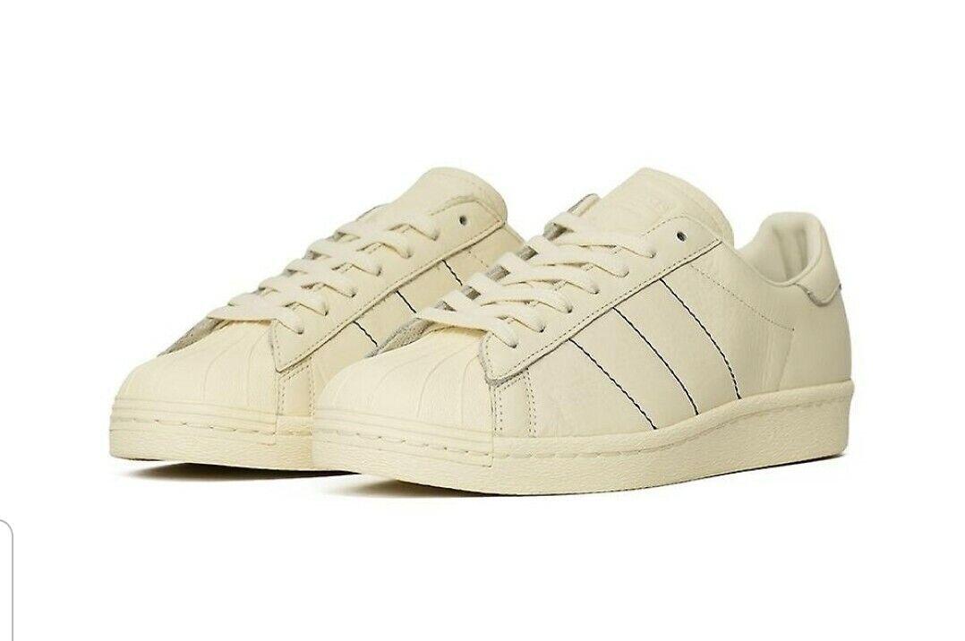 Adidas súperestrella de los 80. Zapatos de hombre, zapatos de deporte, zapatos de deporte, talla inglesa 9.