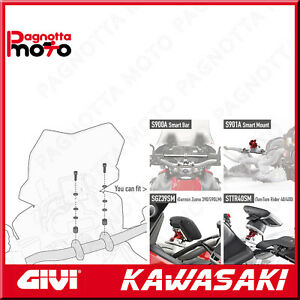 KIT VITERIA PER MONTARE S900A, O LO SMART MOUNT S901A KAWASAKI Z 750 2007>2014