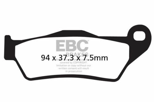 Motorcycle Rear Brake Pads for PIAGGIO X9 500 ie 2007