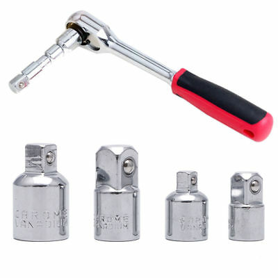 """1//2/"""" Square to 1//4/"""" hex ratchet socket adapter drive tool converter impact M1M3"""