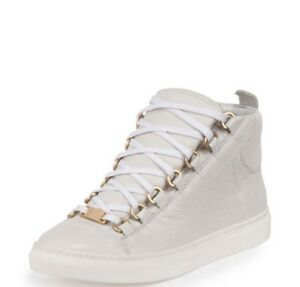 Balenciaga Women Leather Sneakers