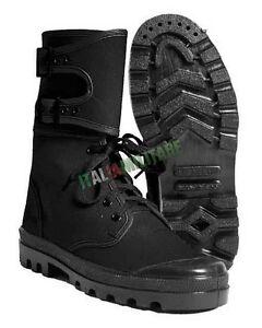 anteprima di scarpe esclusive prodotti caldi Anfibi Militari Lagunari NERI - Scarponi in Tela Estivi colore ...