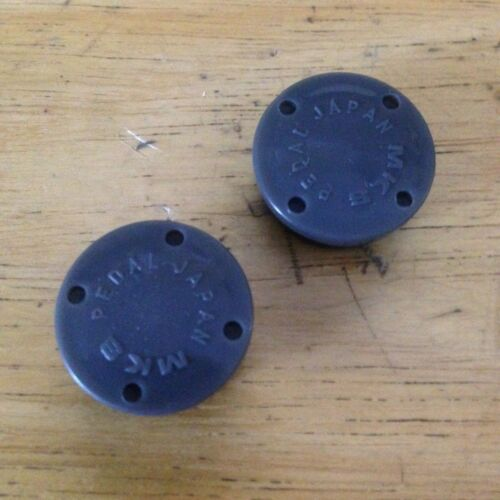 NEW Pair 2 MKS Plastic Pedal Dust Caps Covers for GR-9 Pedals