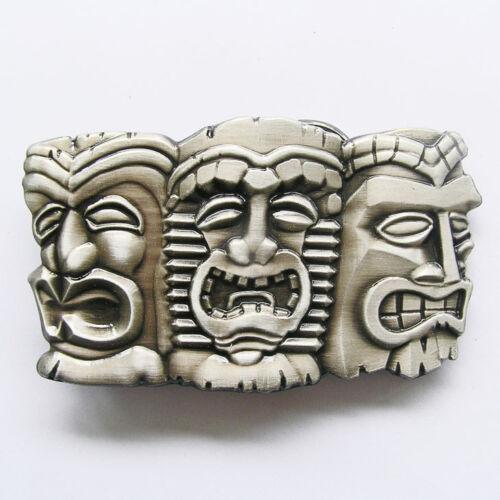 TIKI Gürtelschnalle USA Buckle Wechselschnalle Rockabilly Culture Hawaii Totem