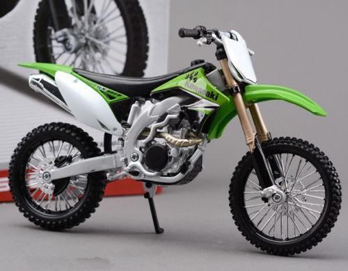 Maisto 1 12 KAWASAKI KXF 450 Self Assembly Toy Model Motocross Motorbike