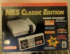 New Nintendo Classic NES Rare Mini Retro Gaming System Console Discontinued HTF!