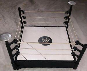 Details Zu Rare Wwe Super Strikers Slam N Launch Arena Raw Wrestling Ring