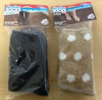 Clean Green Microfiber Cleaning Socks For Cleaning And Dusting - 2 Colors