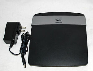 cisco linksys e2500 wireless n dual band 4 port router free