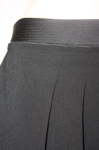 New Skirt Maxazria Short Taglia 10 Black Bcbg Woven Acetate 7r7Ow