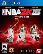 New NBA 2K16 - PlayStation 4 Brand New Ps4 Games Factory Sealed Basketball 2016