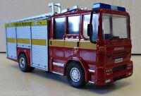 Fire Brigade Models - Dennis Sabre Xl Fire Engine Yellow Side Stripe 1:50 Scale