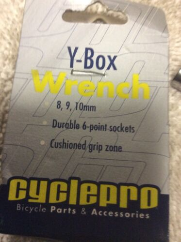 Cyclepro y Clé polygonale 8,9,10 mm durable 6 point Sockets