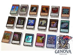Yu-Gi-Oh-100-Random-Cards-Lot-guaranteed-Foil-Cards-10-HOLOS-per-pack
